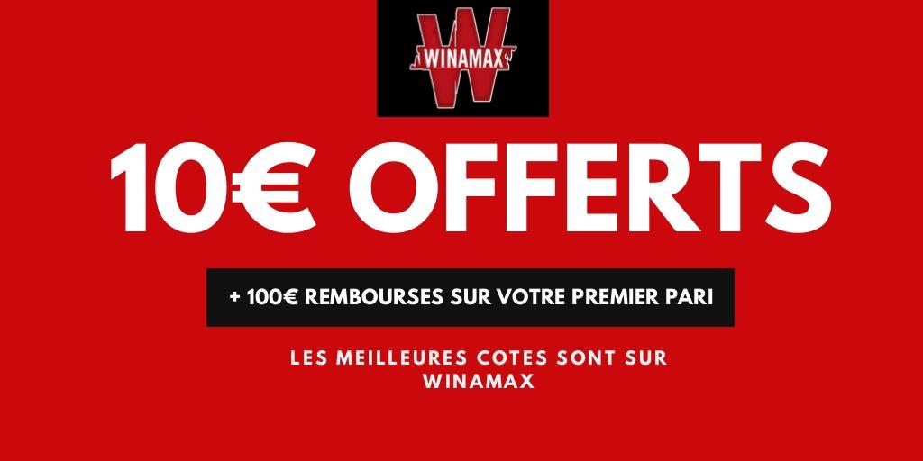 Code promo Winamax : jusqu'à 110€ remboursés en cash à l ...
