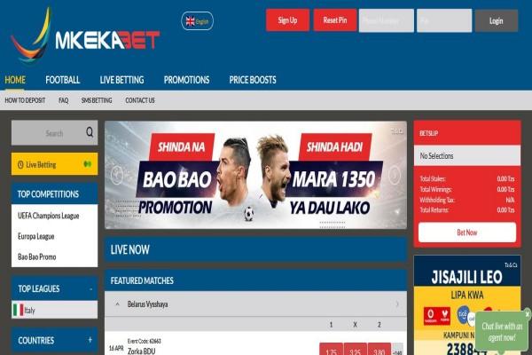 MkekaBet Registration, App Download, Login, Bonus, Promotions ...